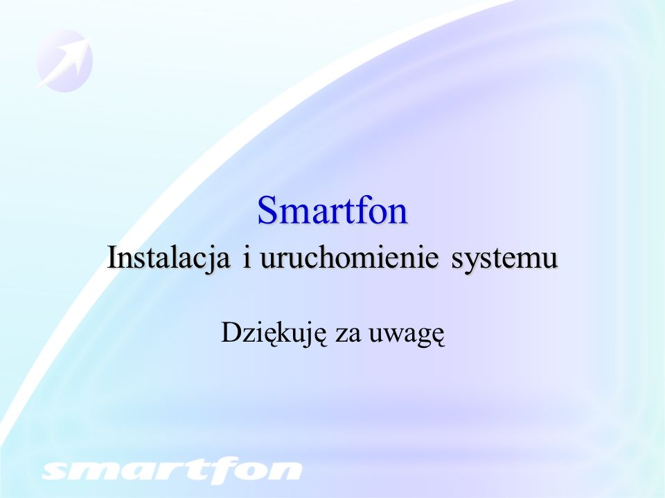 Instalacja i uruchomienie systemu