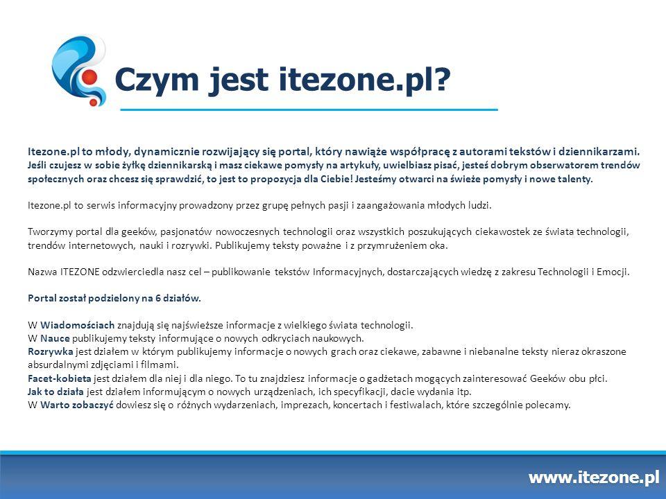 Czym jest itezone.pl www.itezone.pl