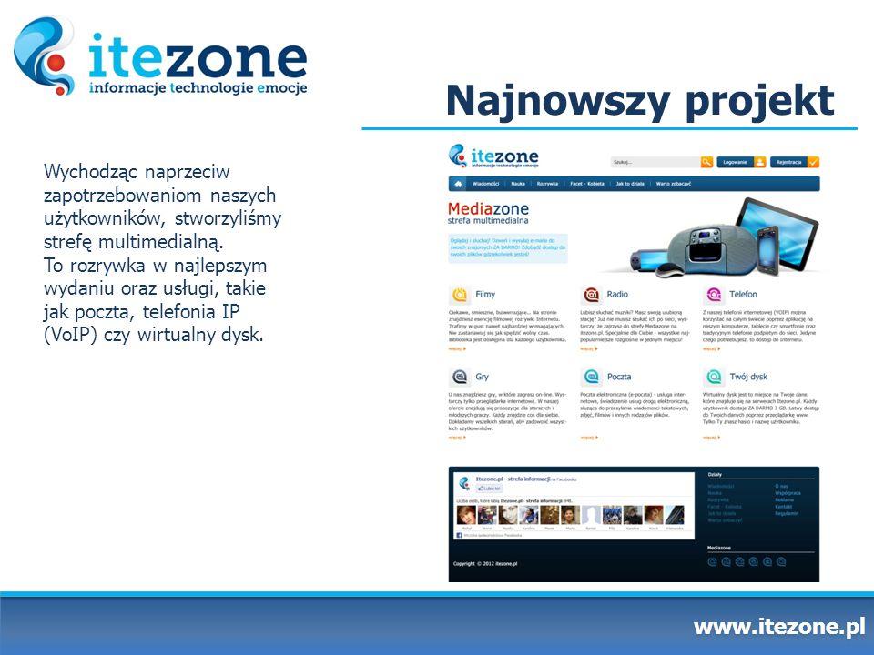 Najnowszy projekt www.itezone.pl