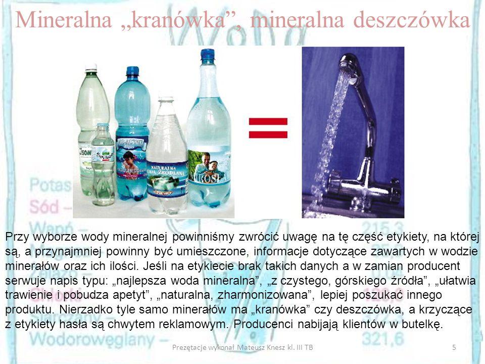 "Mineralna ""kranówka , mineralna deszczówka"