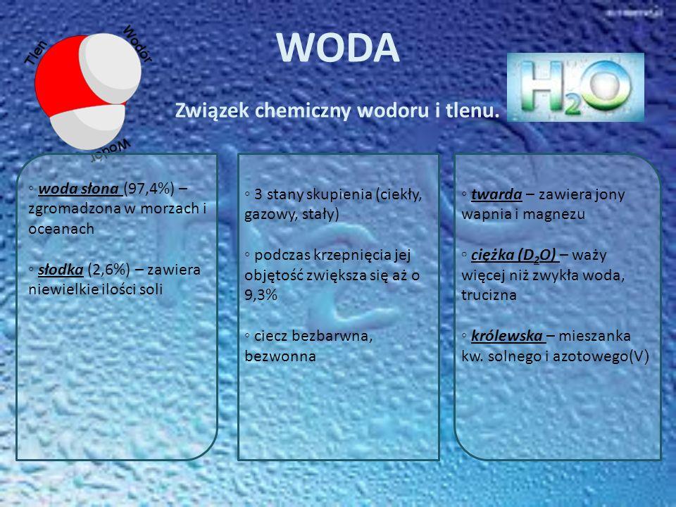 Związek chemiczny wodoru i tlenu.