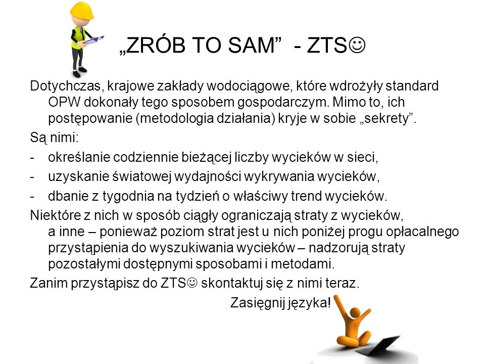 """ZRÓB TO SAM - ZTS"