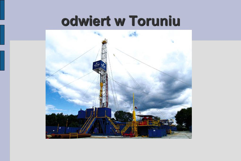 odwiert w Toruniu