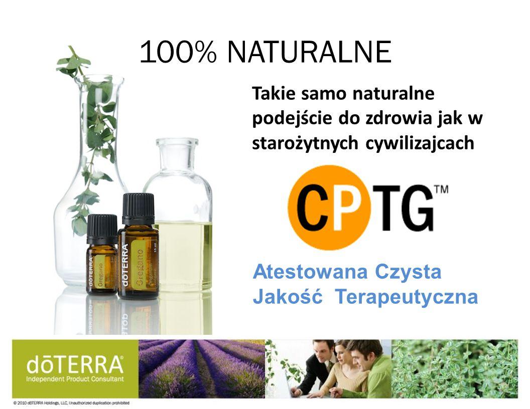 100% NATURALNE Takie samo naturalne podejście do zdrowia jak w starożytnych cywilizajcach.