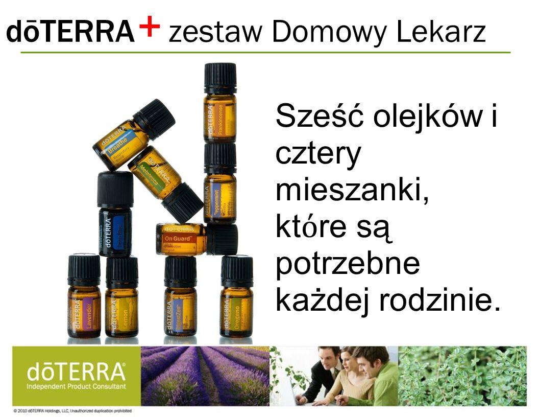 + dōTERRA zestaw Domowy Lekarz
