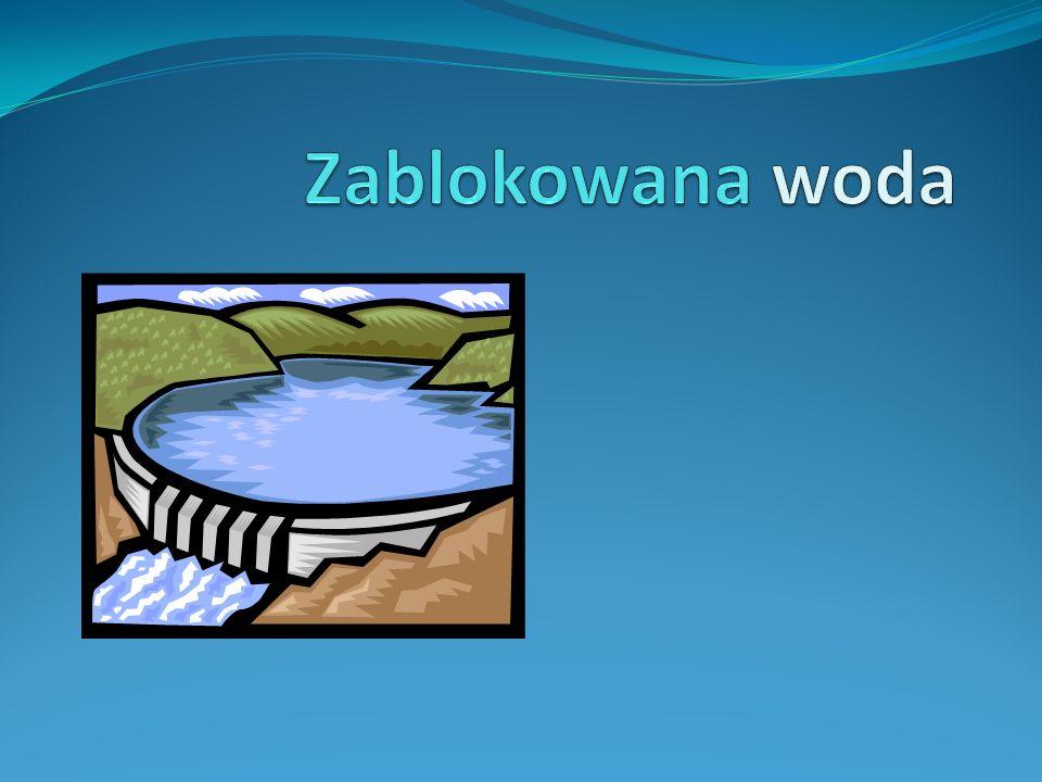 Zablokowana woda