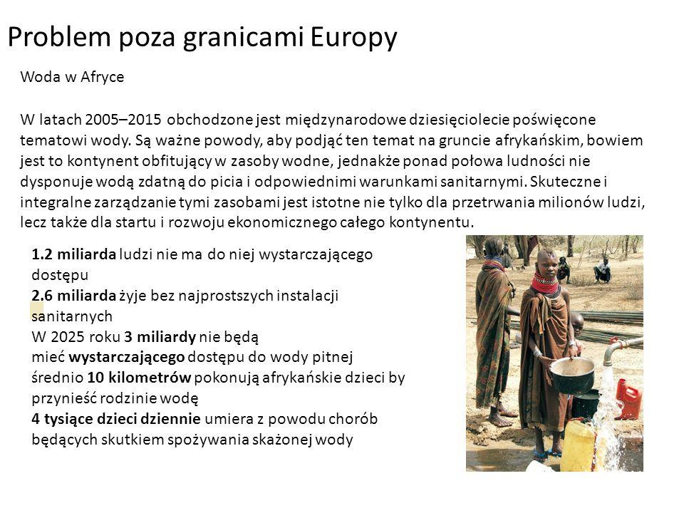 Problem poza granicami Europy