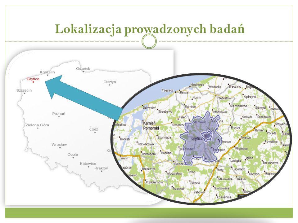 Lokalizacja prowadzonych badań