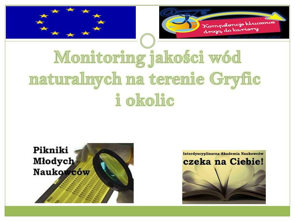 Monitoring jakości wód naturalnych na terenie Gryfic i okolic