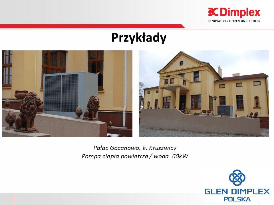 Przykłady Pałac Gocanowo, k. Kruszwicy