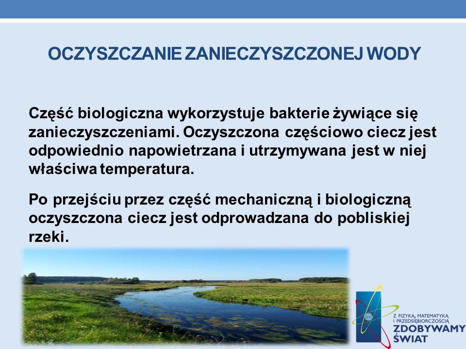 Oczyszczanie zanieczyszczonej wody