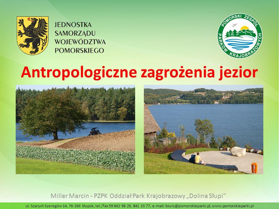 Antropologiczne zagrożenia jezior