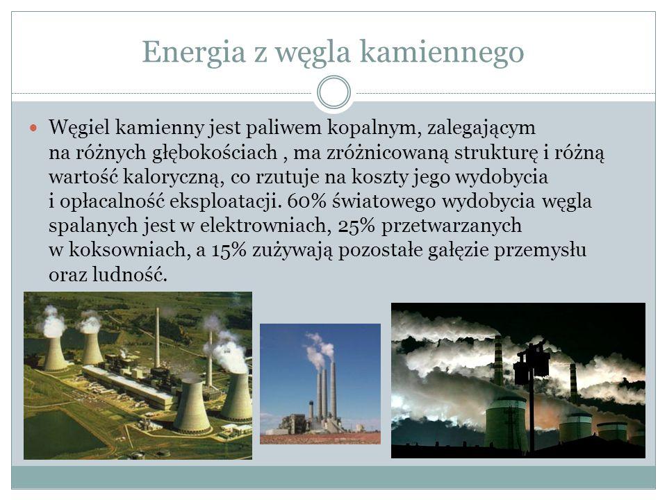 Energia z węgla kamiennego