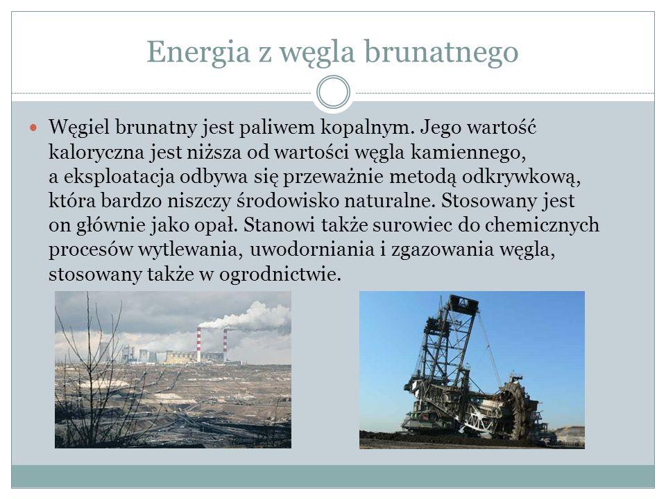 Energia z węgla brunatnego