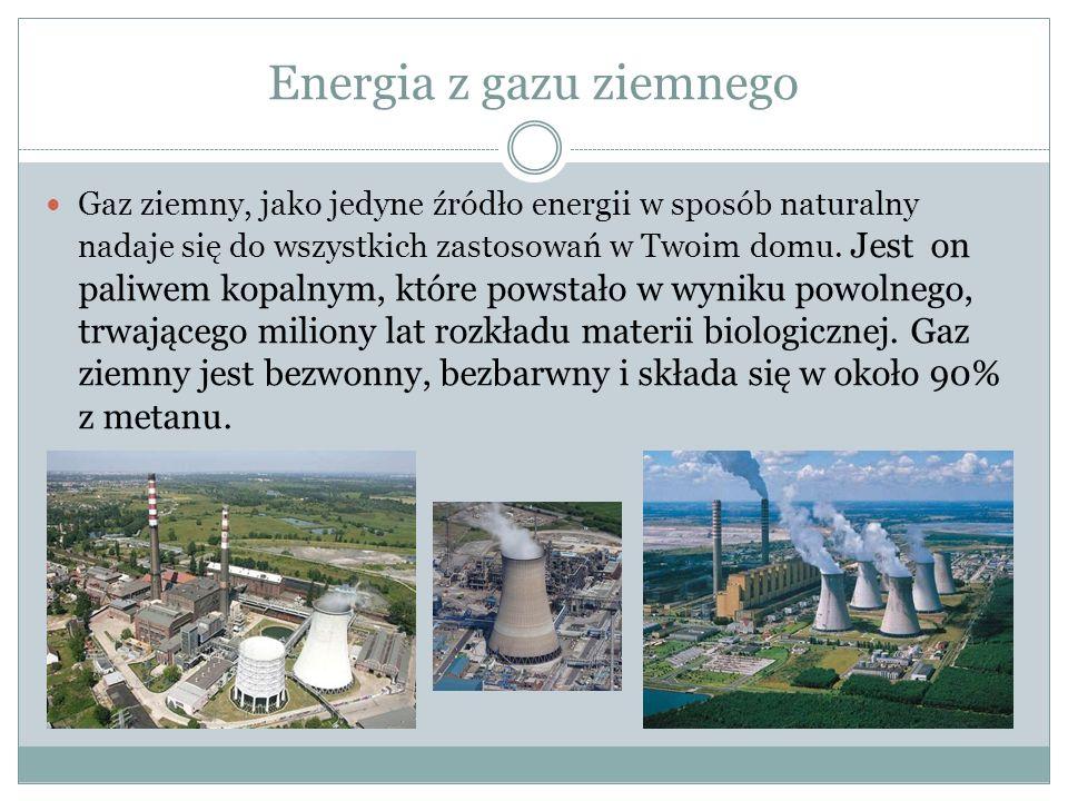 Energia z gazu ziemnego