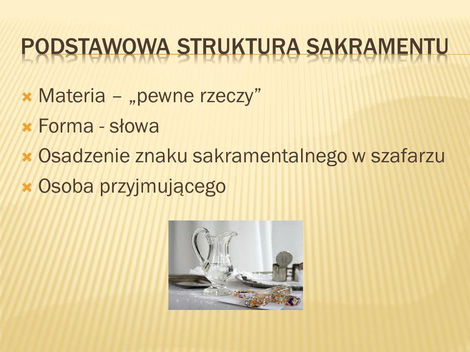 Podstawowa struktura sakramentu
