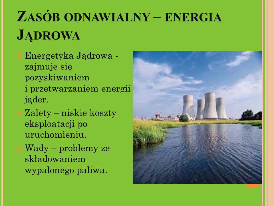 Zasób odnawialny – energia Jądrowa