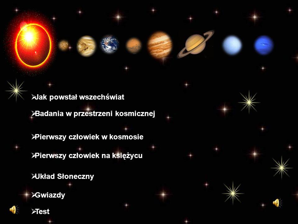 Jak powstał wszechświat