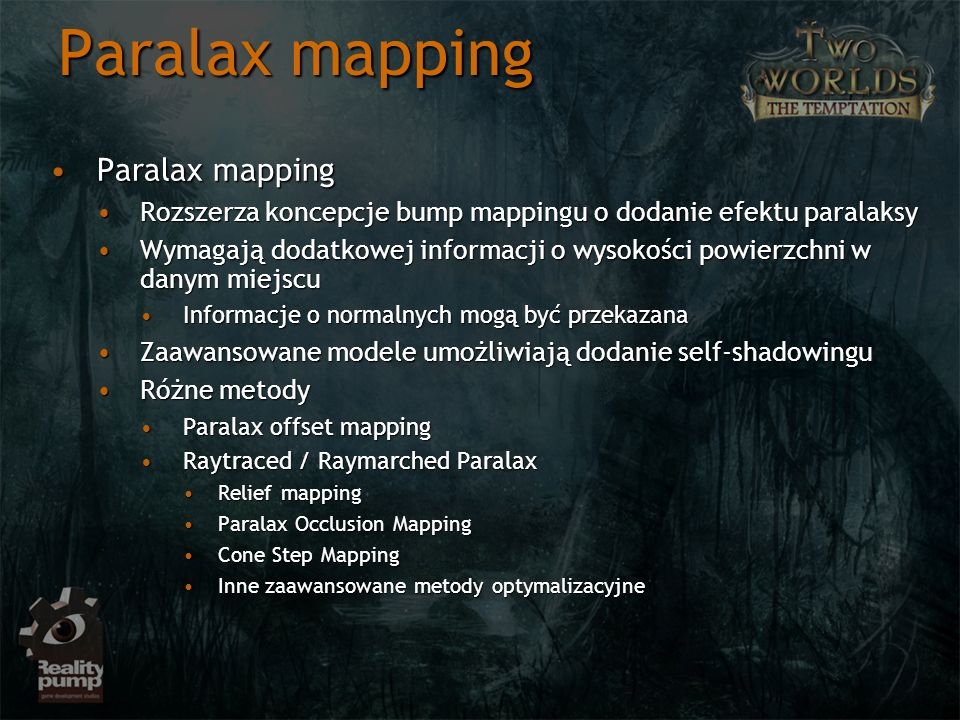 Paralax mapping Paralax mapping