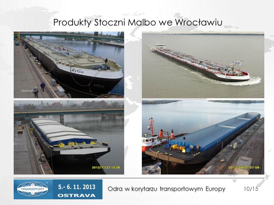 Produkty Stoczni Malbo we Wrocławiu