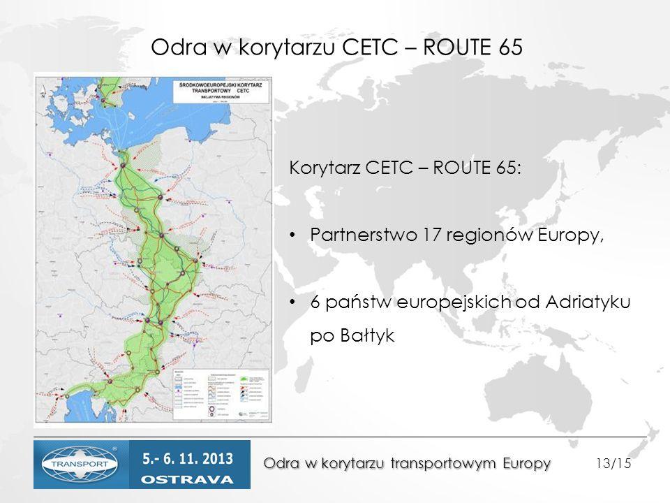 Odra w korytarzu CETC – ROUTE 65