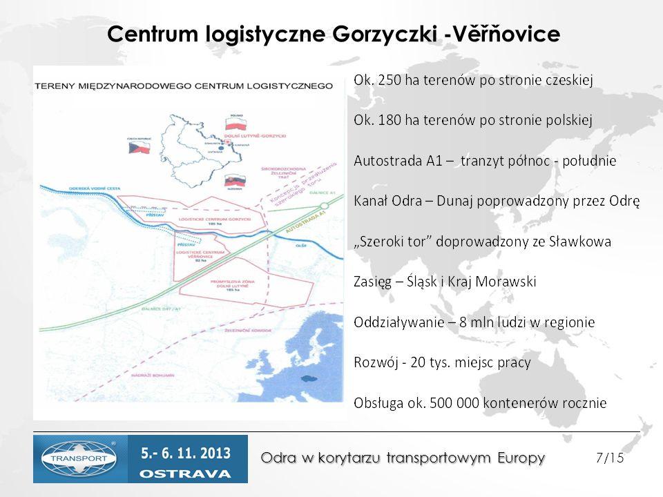 Centrum logistyczne Gorzyczki -Věřňovice