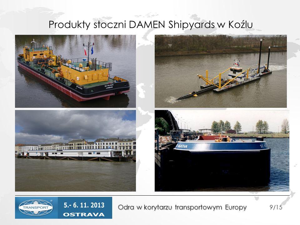 Produkty stoczni DAMEN Shipyards w Koźlu