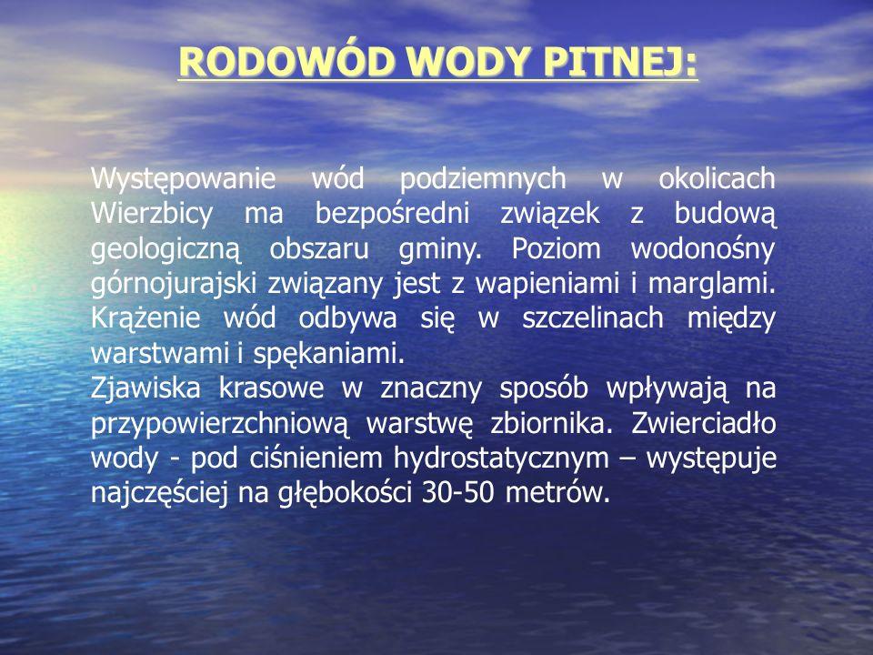 RODOWÓD WODY PITNEJ:
