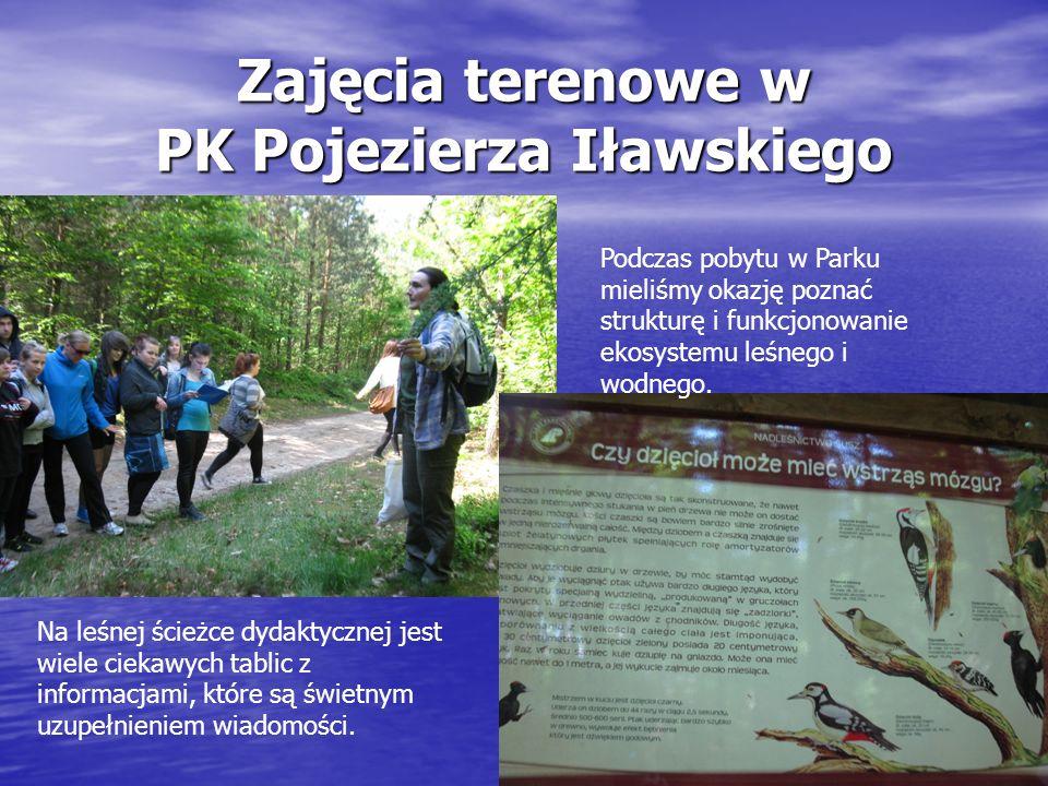 Zajęcia terenowe w PK Pojezierza Iławskiego