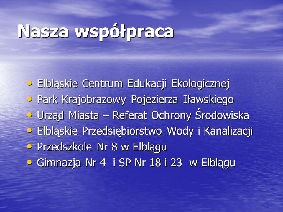 Nasza współpraca Elbląskie Centrum Edukacji Ekologicznej