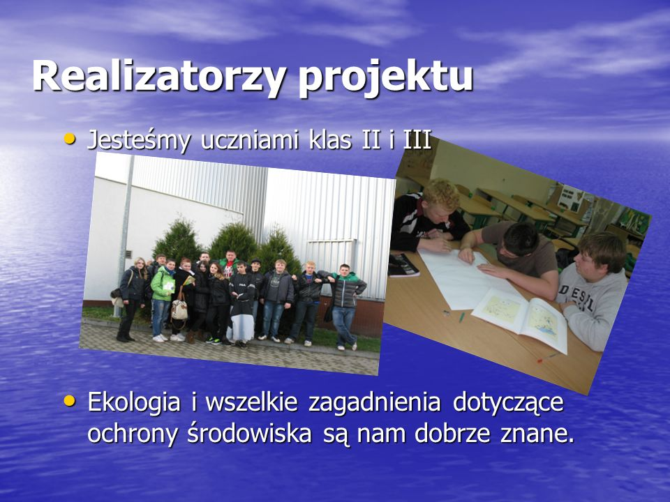 Realizatorzy projektu