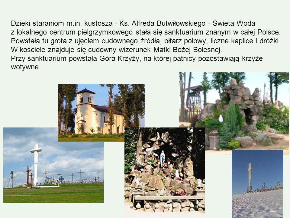 Dzięki staraniom m. in. kustosza - Ks