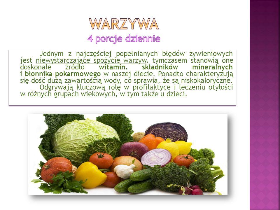 warzywa 4 porcje dziennie