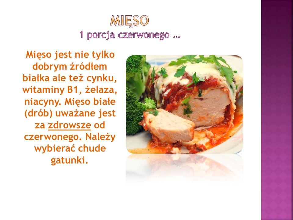 Mięso 1 porcja czerwonego …