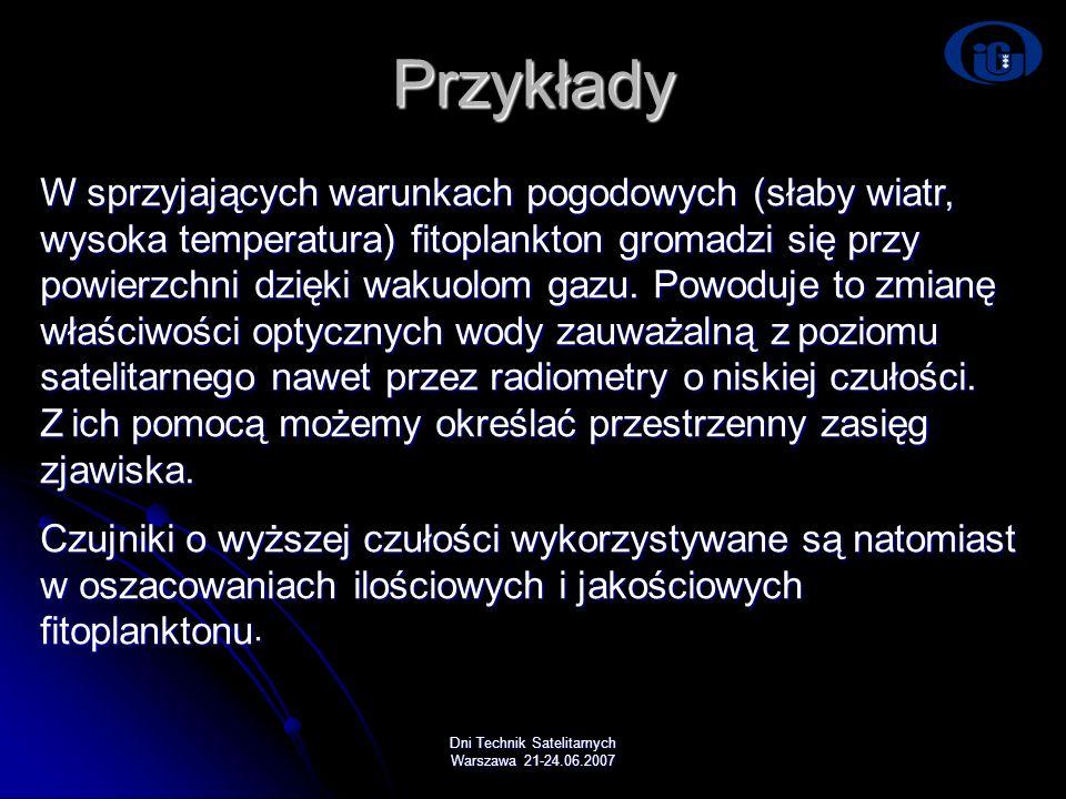 Dni Technik Satelitarnych Warszawa 21-24.06.2007