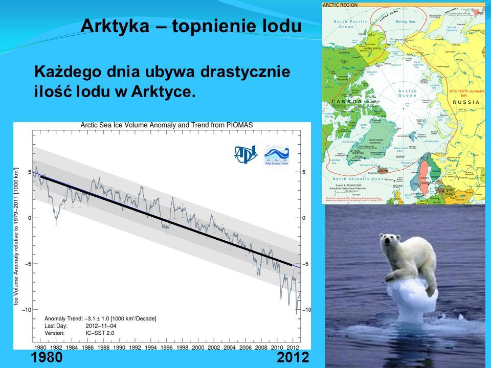 Arktyka – topnienie lodu