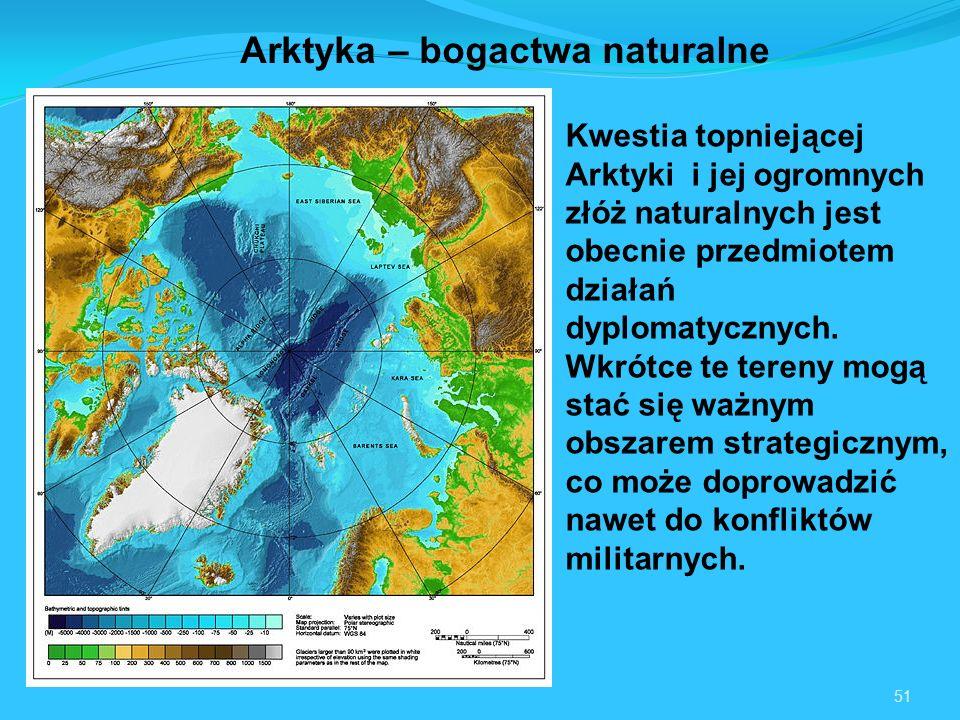 Arktyka – bogactwa naturalne