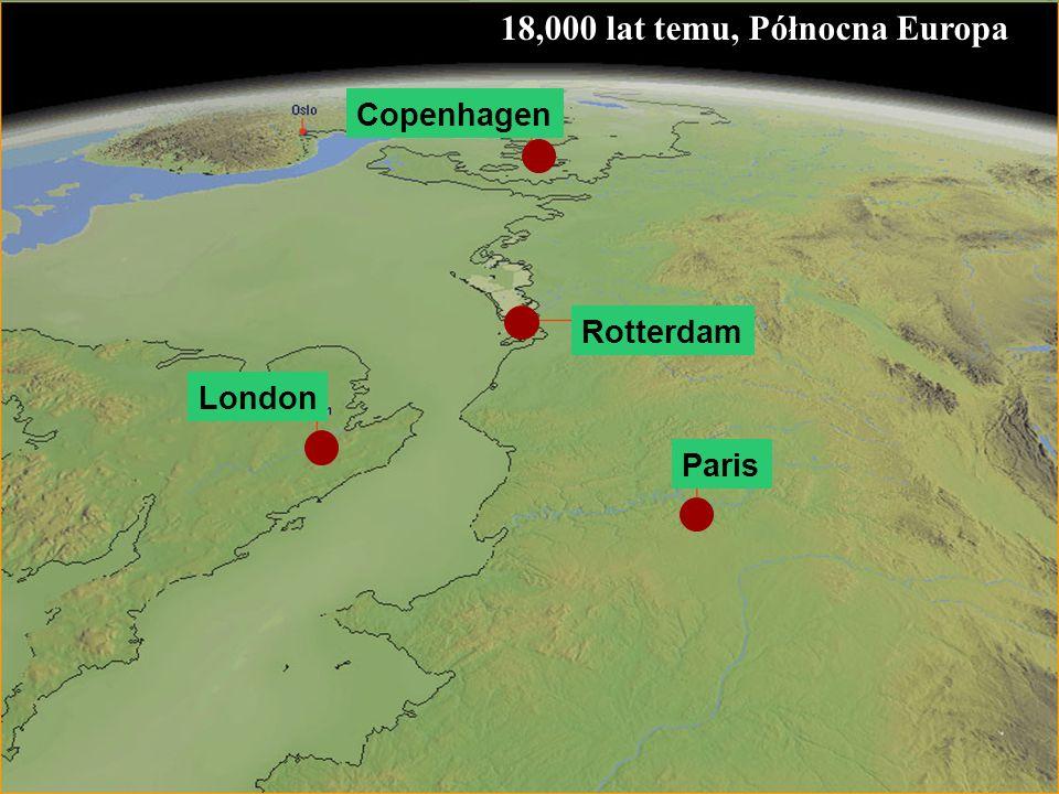 18,000 lat temu, Północna Europa