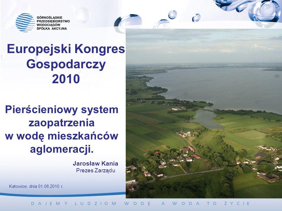 Pierścieniowy system zaopatrzenia w wodę mieszkańców aglomeracji.