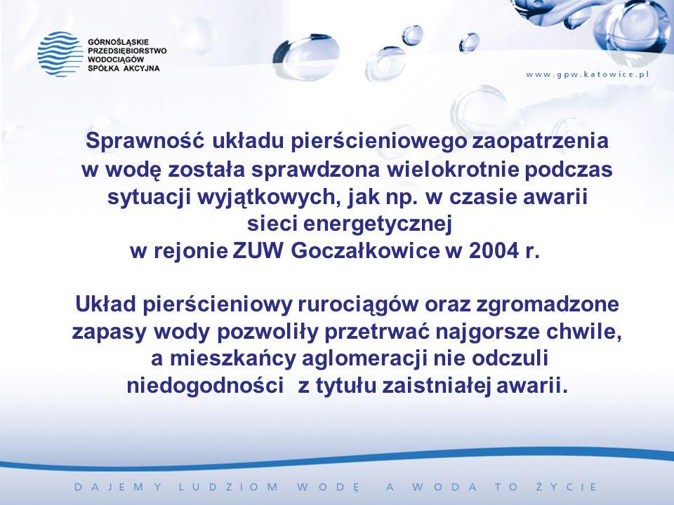 w rejonie ZUW Goczałkowice w 2004 r.