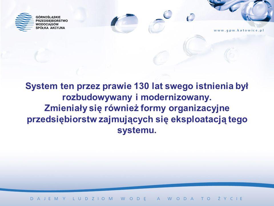 System ten przez prawie 130 lat swego istnienia był rozbudowywany i modernizowany.