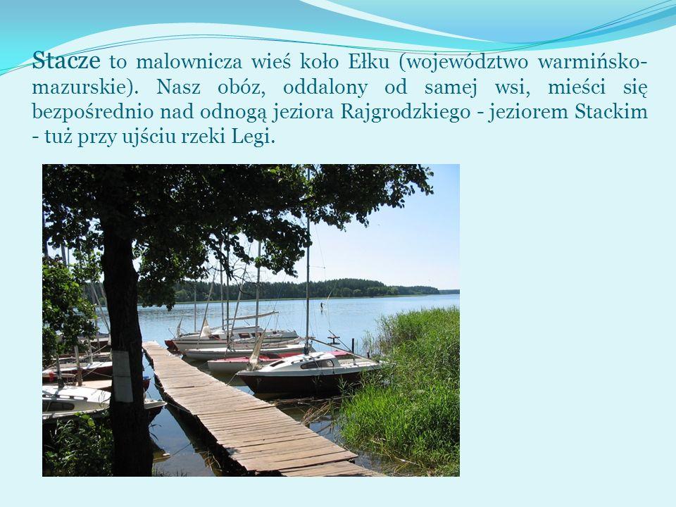 Stacze to malownicza wieś koło Ełku (województwo warmińsko-mazurskie)