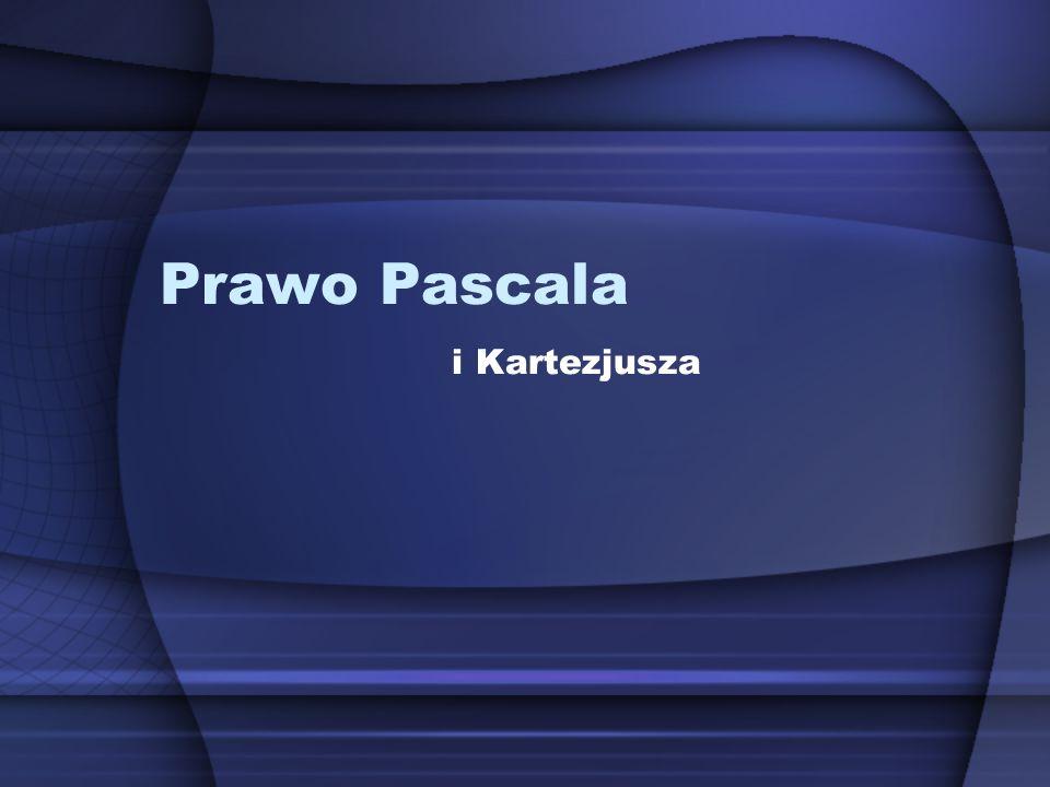 Prawo Pascala i Kartezjusza
