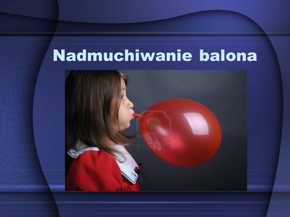 Nadmuchiwanie balona