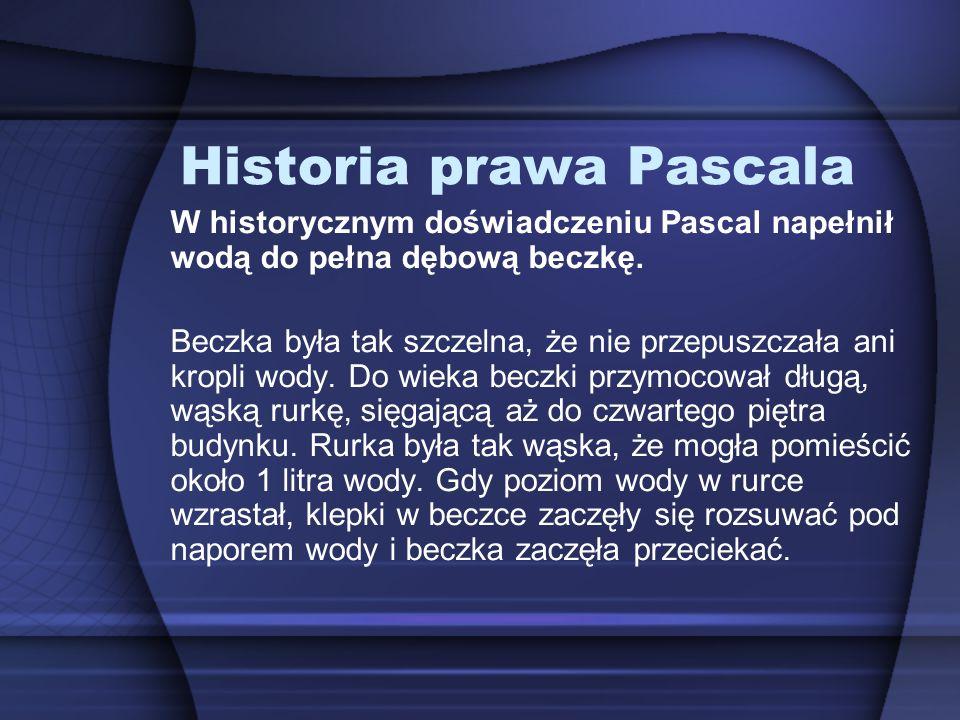 Historia prawa Pascala