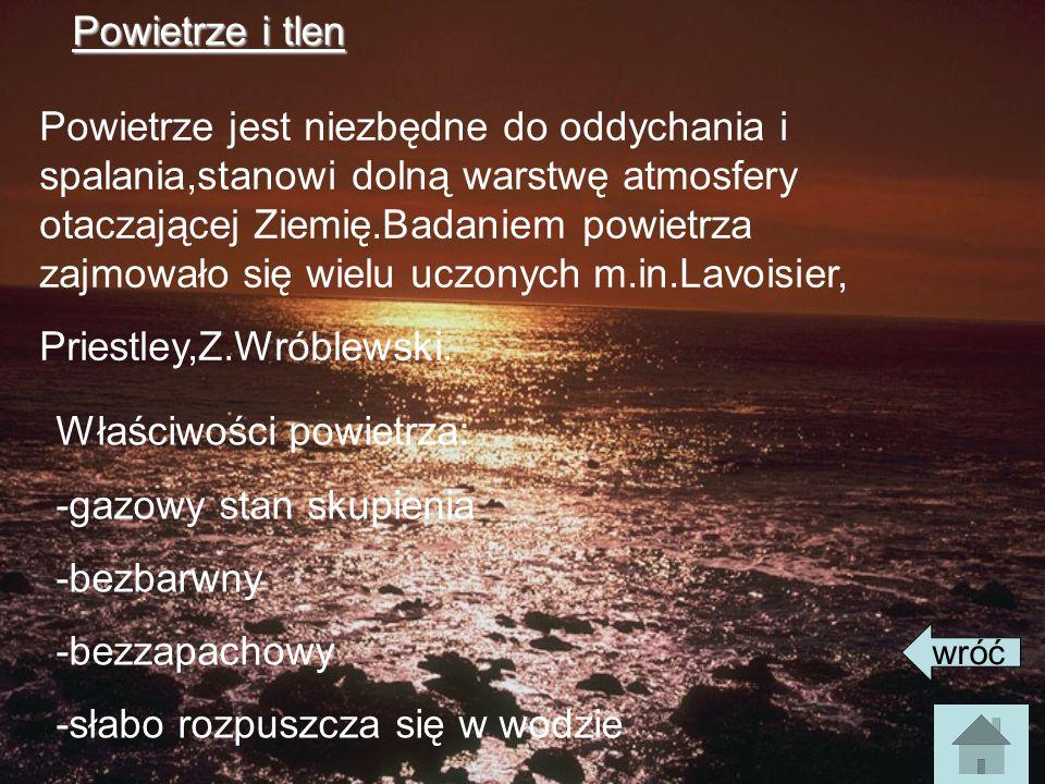 Priestley,Z.Wróblewski.