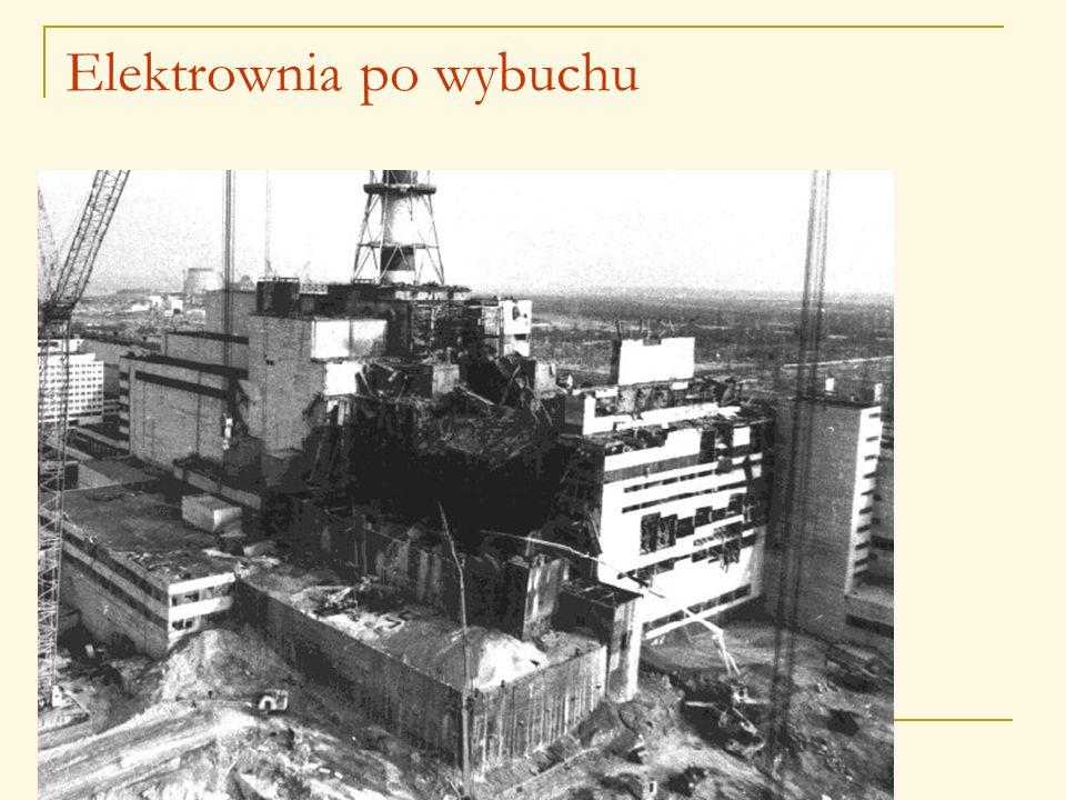 Elektrownia po wybuchu