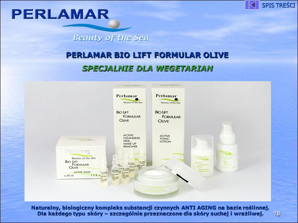 PERLAMAR BIO LIFT FORMULAR OLIVE SPECJALNIE DLA WEGETARIAN