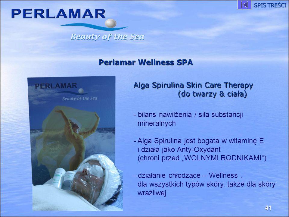 Alga Spirulina Skin Care Therapy (do twarzy & ciała)