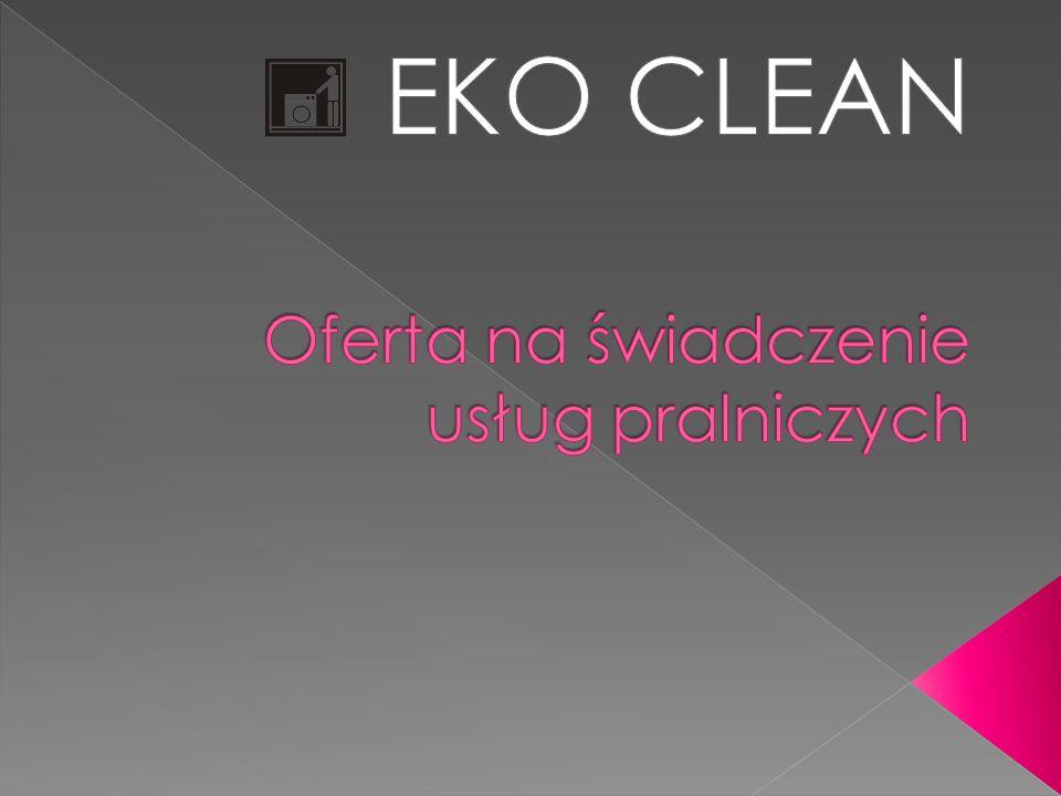 Oferta na świadczenie usług pralniczych